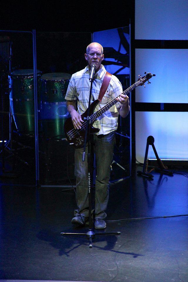 Lloyd Playing Guitar